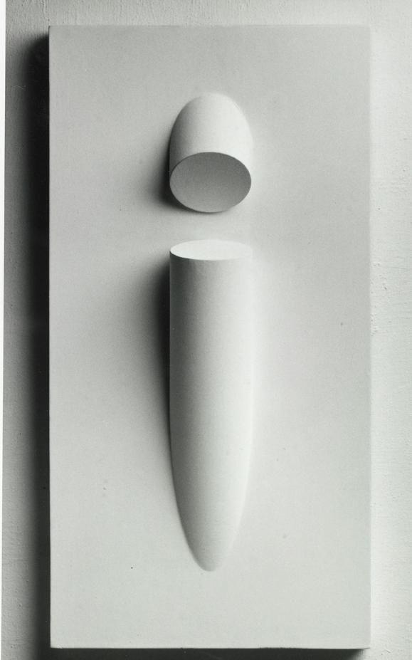 Sergio Camargo - Madeira Pintada 1968
