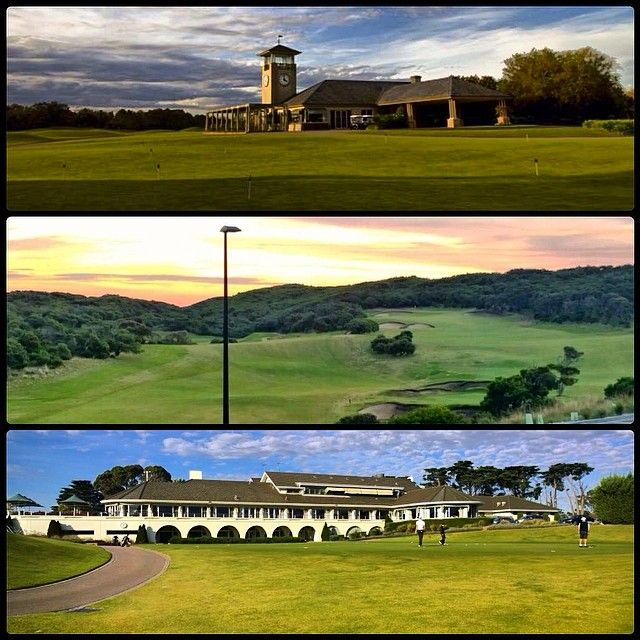 Just a taste of behind the scenes action from our shoot for One HD's #Golf Getaway TV show, at three of Victoria's most amazing courses; Capital #Golf Club, #Portsea #Golf Club and #Victoria #Golf Club.