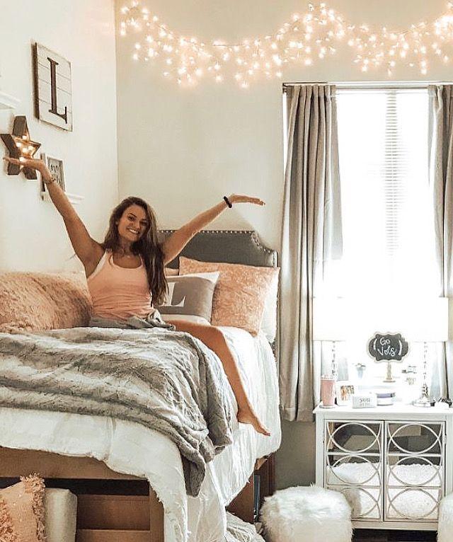 Led Wall Lights In 2020 Dorm Room Dorm Room Designs College
