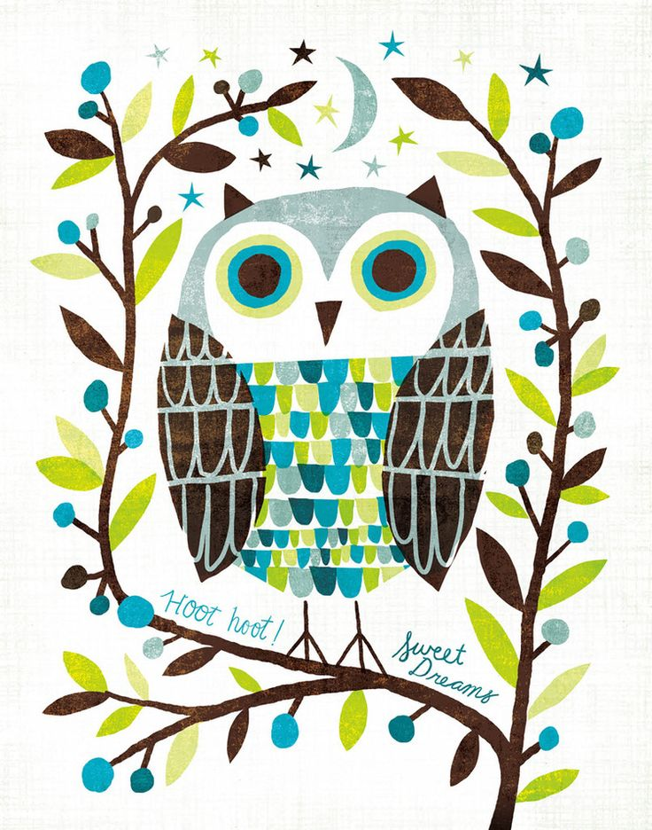 The Night Owl Collection is available as prints & licensed products. © Michael Mullan. 2012