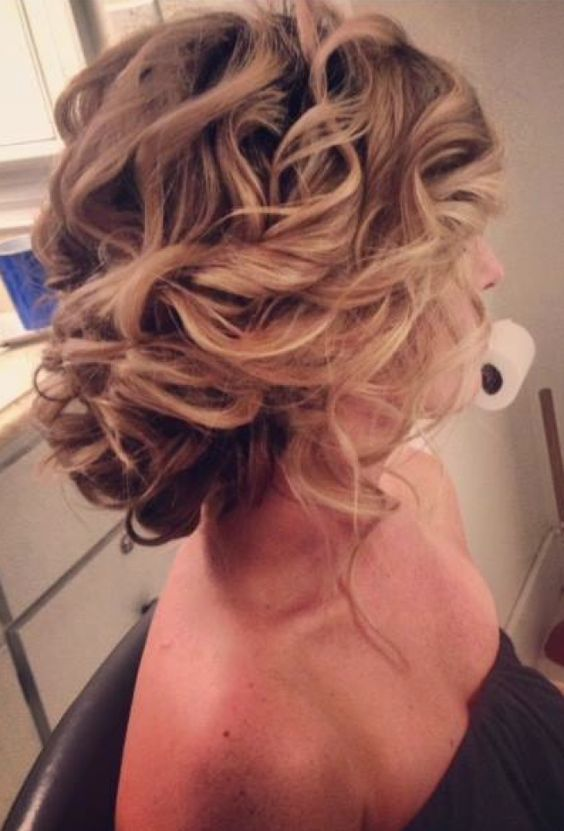 Chic Updos for Medium Length Hair