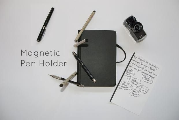 This Magnetic Notebook Lets You Add, Remove, and Reorganize Its Pages | Mental Floss