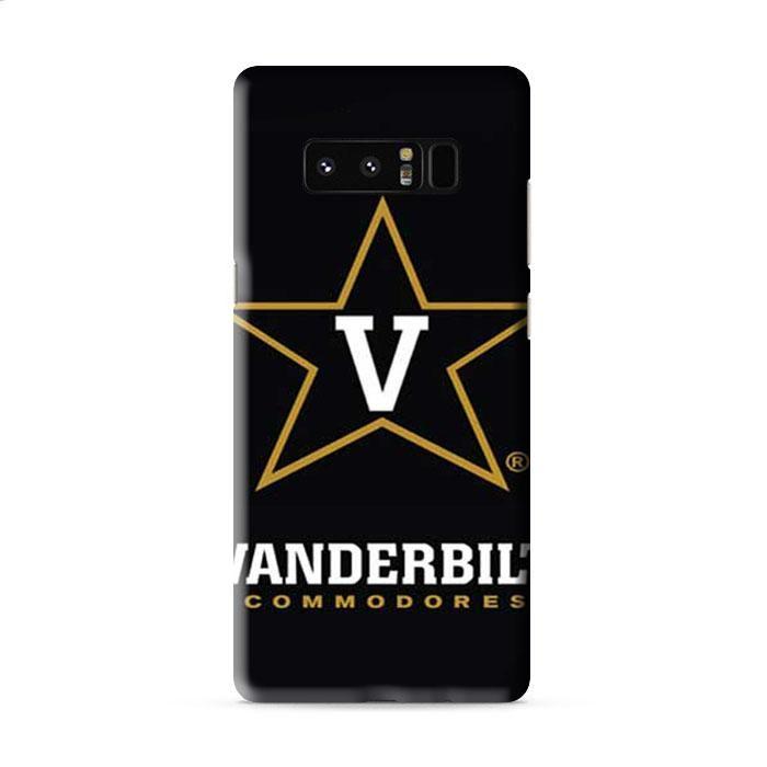 Vanderbilt Commodores logo on blk Samsung Galaxy Note 5 3D Case Caseperson