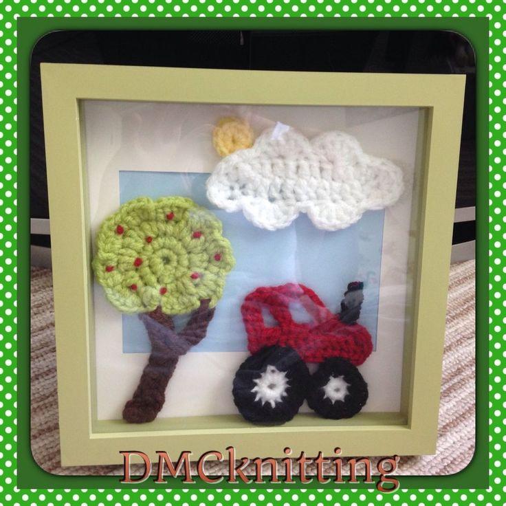 Crochet Box Frame | eBay