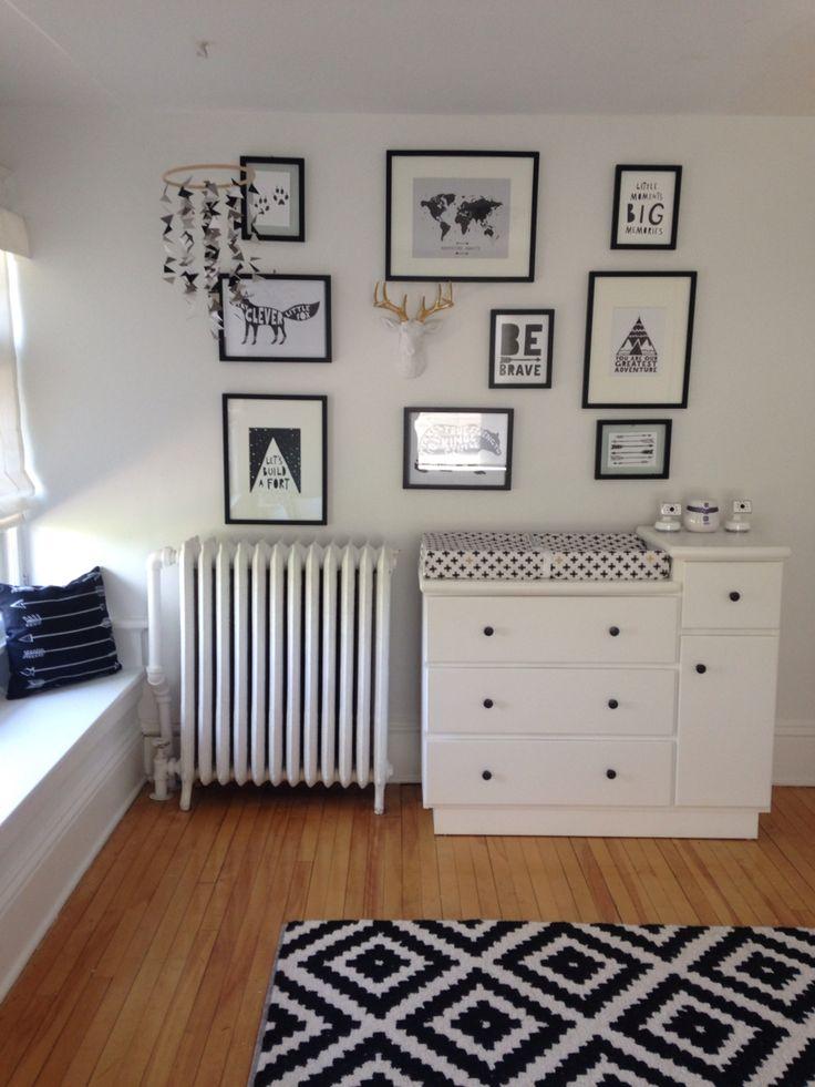 Zvi S Black And White Nursery Baby Room Decor Baby Boy