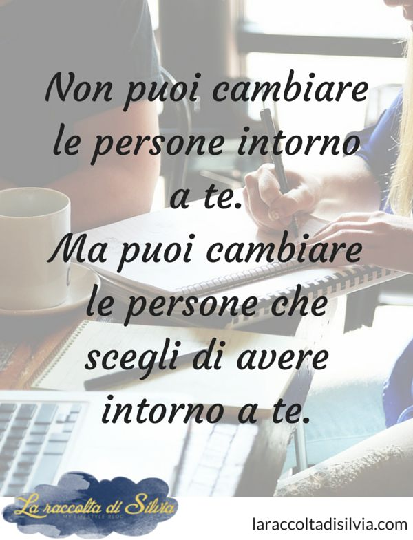 Be Different... www.warriorsproject.it cambiare persone