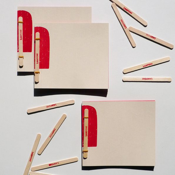 Nascono i Ghiaccioli, i quaderni di Fabriano per raccontare la propria estate | Design In