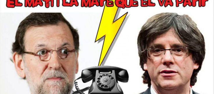 Rajoy, víctima de una broma telefónica, ofrece una reunión a un imitador de Puigdemont