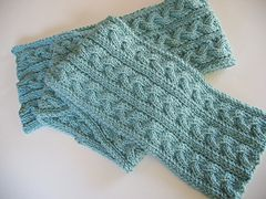 Ravelry: Braid Cable Reversible Hiking Scarf pattern by Jeanna Quinones