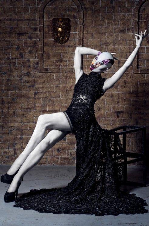 Martha Borja by Enzo Mondejar & Jelly Eugenio in Avant Garde Makeup  Challenge
