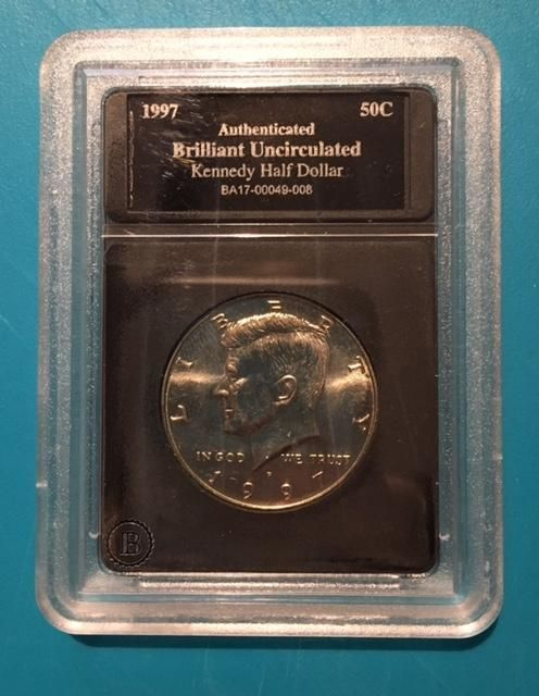US Mint - 1997 JFK US Silver Half Dollar Coin Collection