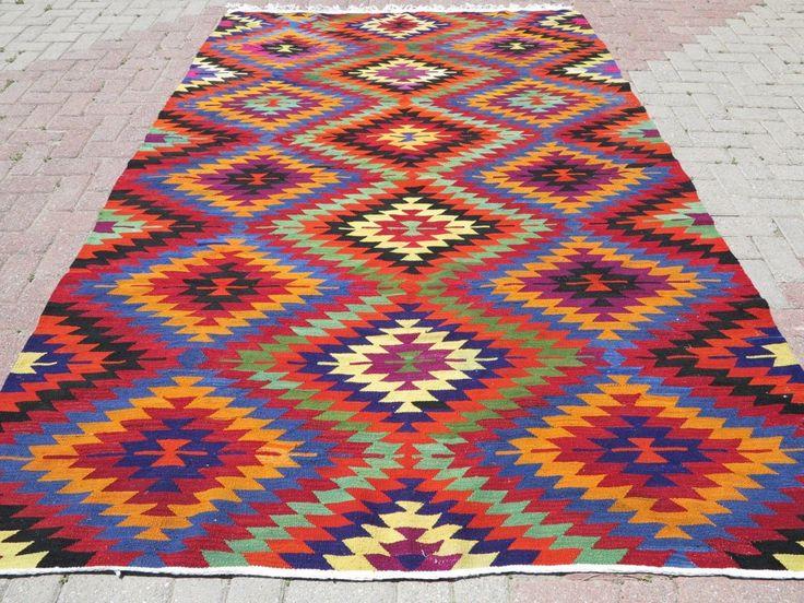 Kilim tapis tissés à la main, loic Design, tapis décoratif, tapis Vintage 68,5 « x 107,8 » turque tapis Kelim, Kilim turc VINTAGE Tapis moquettes, tapis par TurkishKilimRug sur Etsy https://www.etsy.com/fr/listing/202790946/kilim-tapis-tisses-a-la-main-loic-design