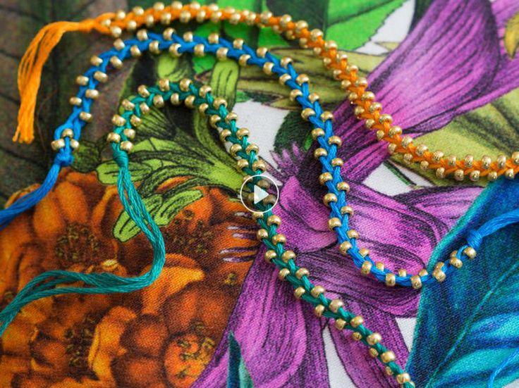 Un bracelet brésilien facile à faire soi-même