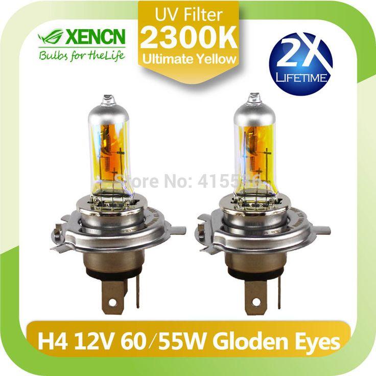 НОВЫЙ XENCN H4 12 В 85/80 Вт P43t 2300 К Золотые Глаза Супер Желтый Свет Галогенных Ламп Автомобиля фары Бесплатная Доставка