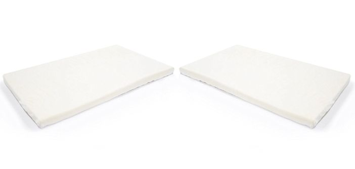 Milliard 2-inch Ventilated Memory Foam Crib Toddler Bed Mattress Topper Review