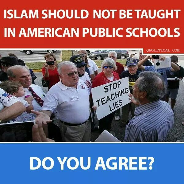 IF Christianity is forbidden from being even mentioned in U.s. Public Schools, NO form of religion should be permitted in a Public School WHY make an exception for what is NOT a real religion but is A Socio-political Ideology?