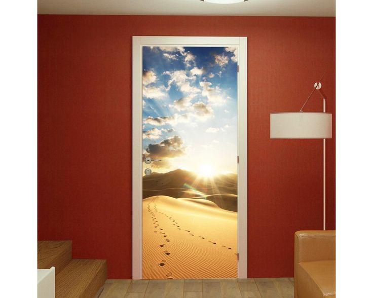 Desert footsteps, αυτοκόλλητο πόρτας , δείτε το!