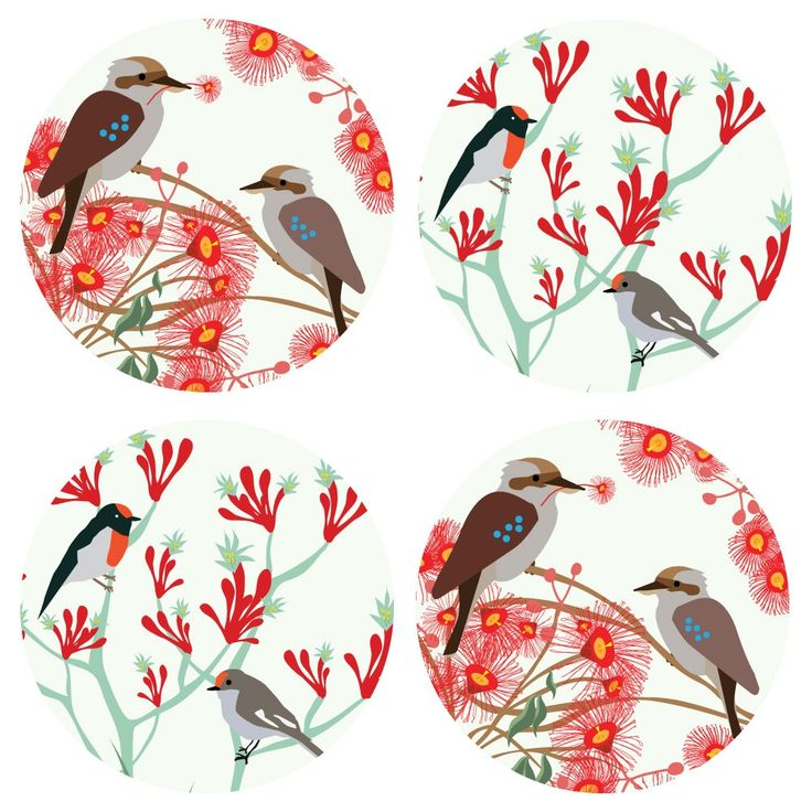 Christmas bloom coasters (set of 4) | hardtofind. CHRISTMAS IN #HTFSTYLE