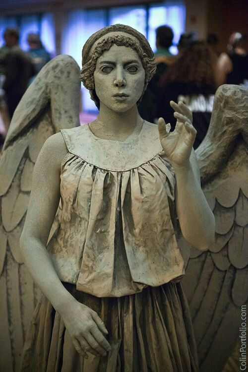 Weeping Angel cosplay #doctor who