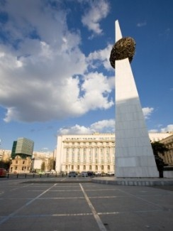 Romanians don't love this monument...reminds them of a speared potato.