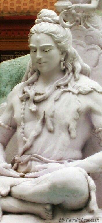 Lord Shiva statue in Parmarth Niketan Ashram Rishikesh - India #india#statue#lordshiva#shiva wumarci,flickr