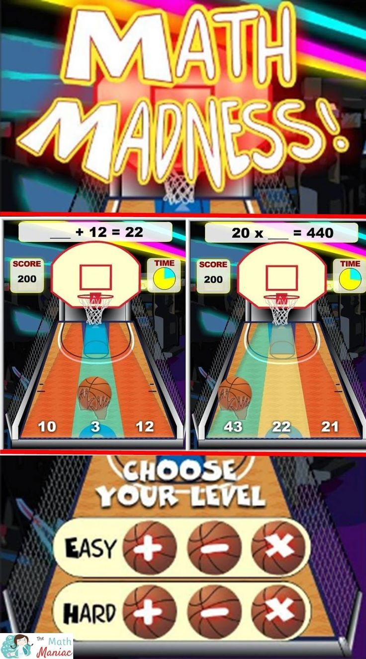 Fun Free Computer Games Math Madness Computer games for