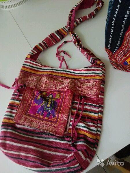 87cc48b658c0 Сумка, рюкзак из Индии ручная работа купить в Москве на Avito — Объявления  на сайте