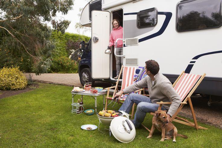 Camping-car Caravane chez l'habitant