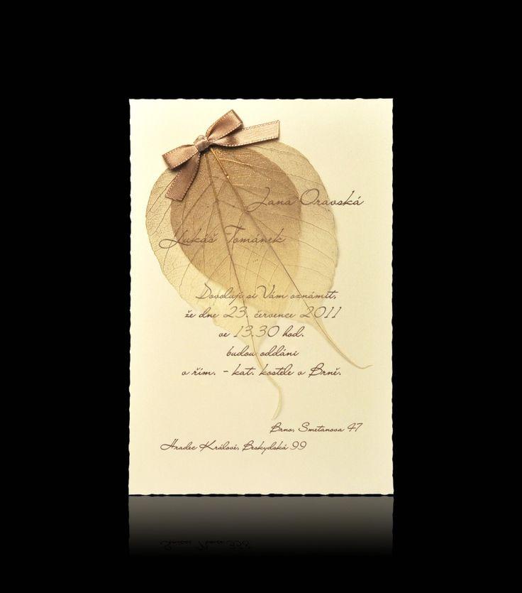 Svatební oznámení D 1009