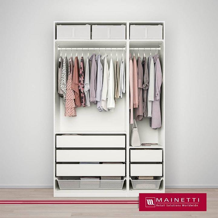 Kleiderschrank Wei゚ Mit Schubladen