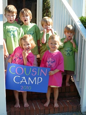 Cousin camp! I totally think I'm going to do this!! How cute and fun! @Lindsay Dillon Benson Thome