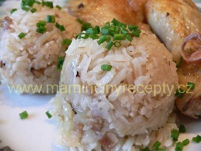 Slaninová rýže