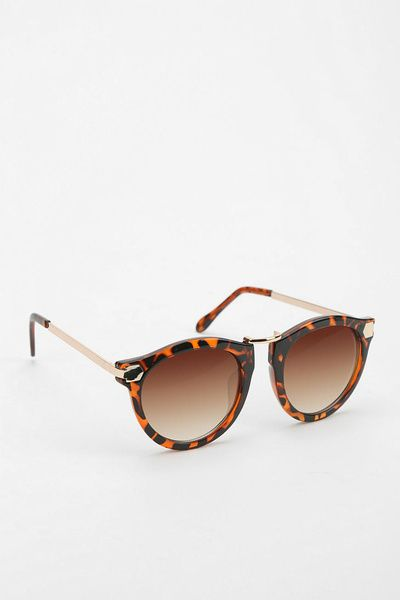London Bridge Round Sunglasses - Urban Outfitters - URBAN OUTFITTERS - InStores