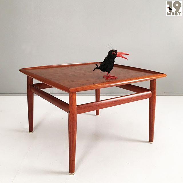 A Danish Teak Coffee Table From The 1960 S Designed By Grete Jalk Available On Www 19west De 19west Koln Vin Teak Coffee Table Coffee Table Teak