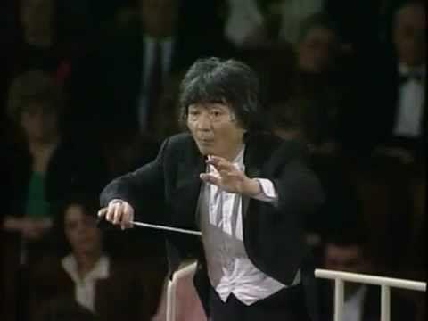 Carmina Burana with Seji Ozowa conducting Berlin symphony Orchestra.