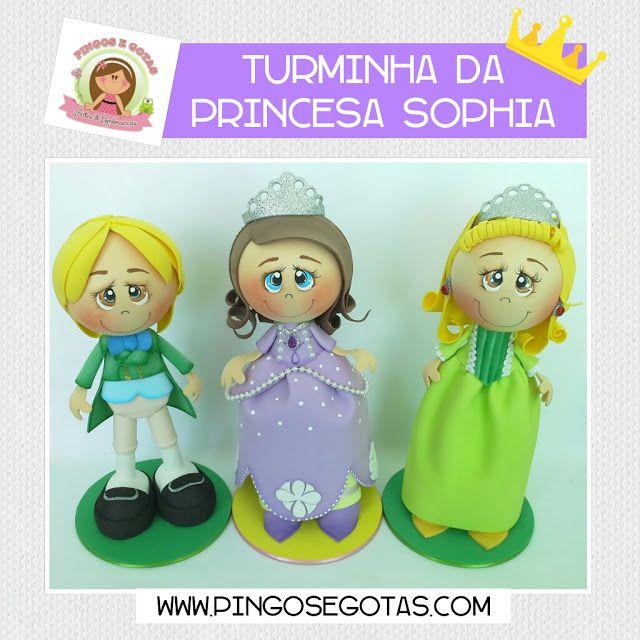 Turminha da Princesa Sophia