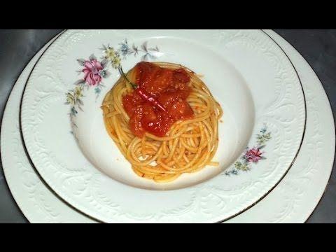 Spaghetti con la 'nduja calabrese