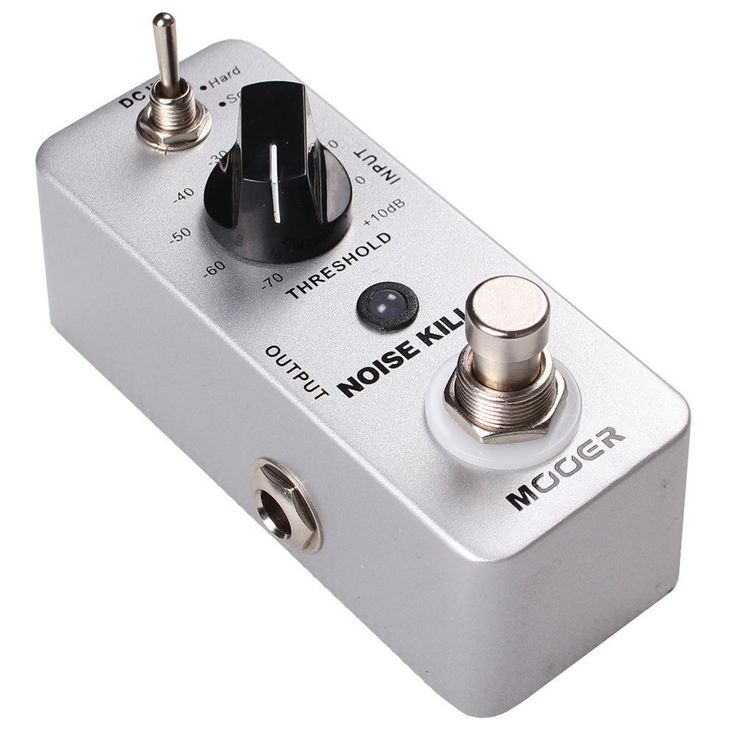 New Mooer Noise Killer Noise Reduction Micro Guitar Effects Pedal!