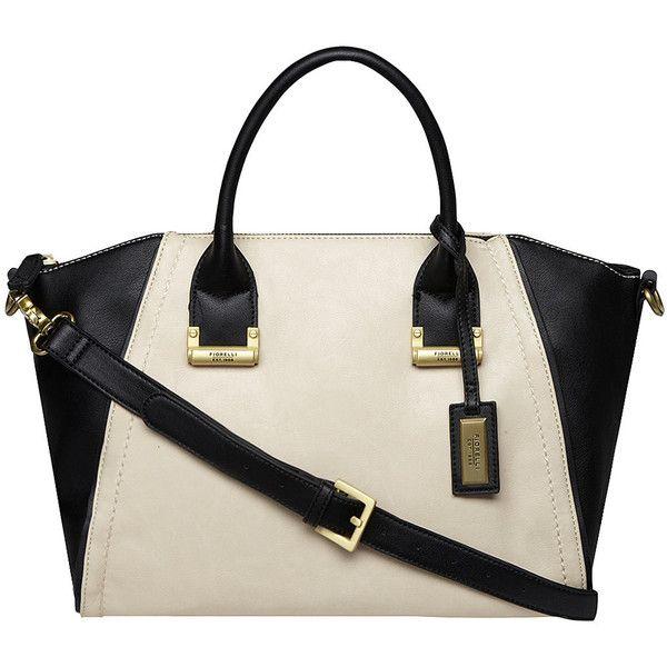 Fiorelli Handbags Black And White Blackwhite Wing Bag Found On Polyvore