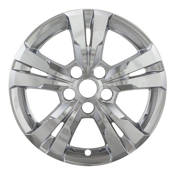 "Chevrolet Equinox Chrome Wheel Skins Hubcaps Wheel Covers 17"" 5433 2010 2011 2012 2013 2014 2015 2016 SET OF 4  #Hubcaps #WheelCovers"