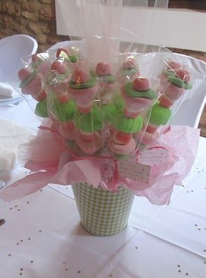 Árboles y pinchos de chuches para fiestas de cumpleaños o comuniones | Decora y diviértete