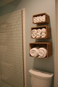 Bath room storage