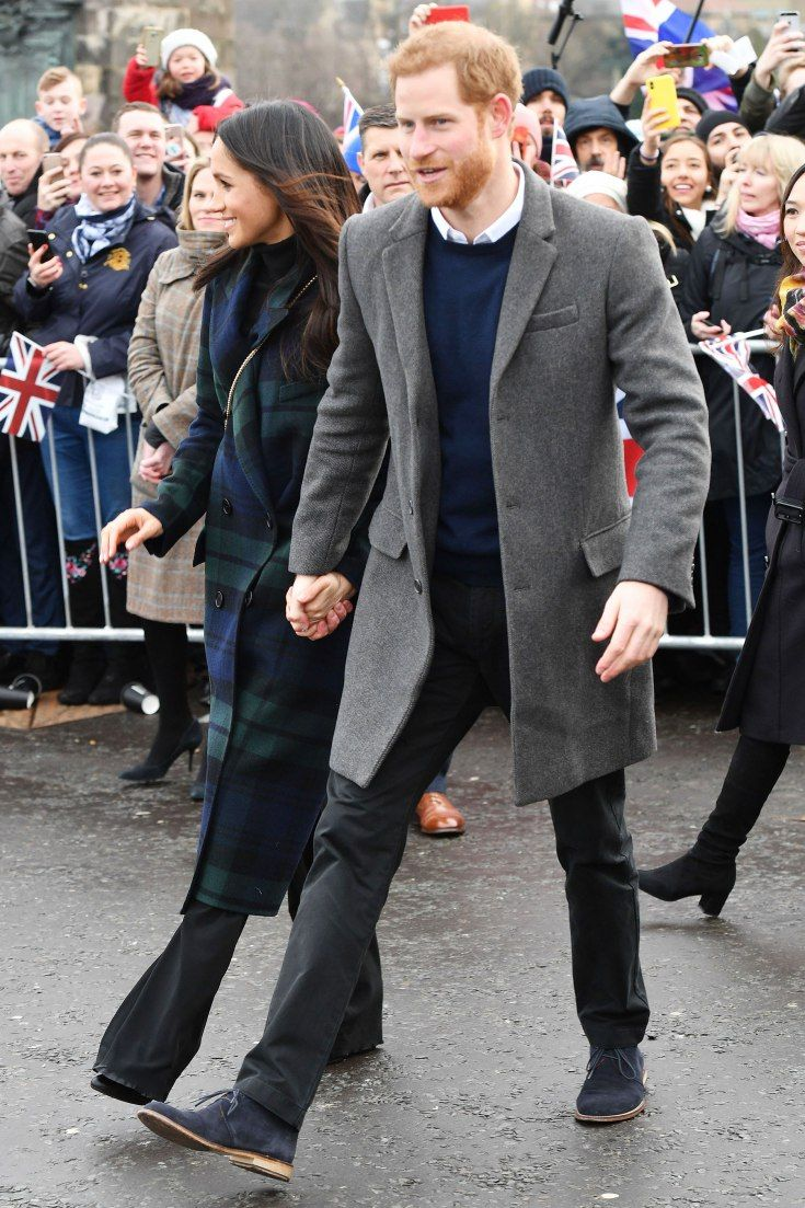 Prince Harry and Meghan Markle visit to Edinburgh, Scotland – 13 Feb 2018