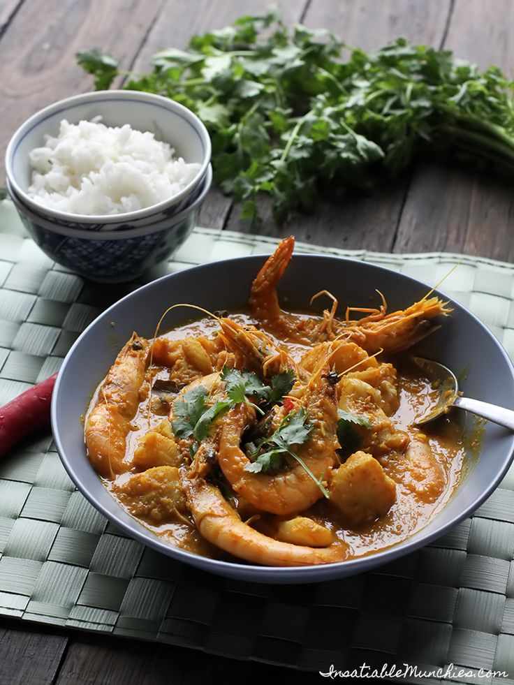 Kari Makanan Laut (Seafood Curry) recipe