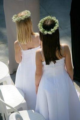 Gyp flower crowns.