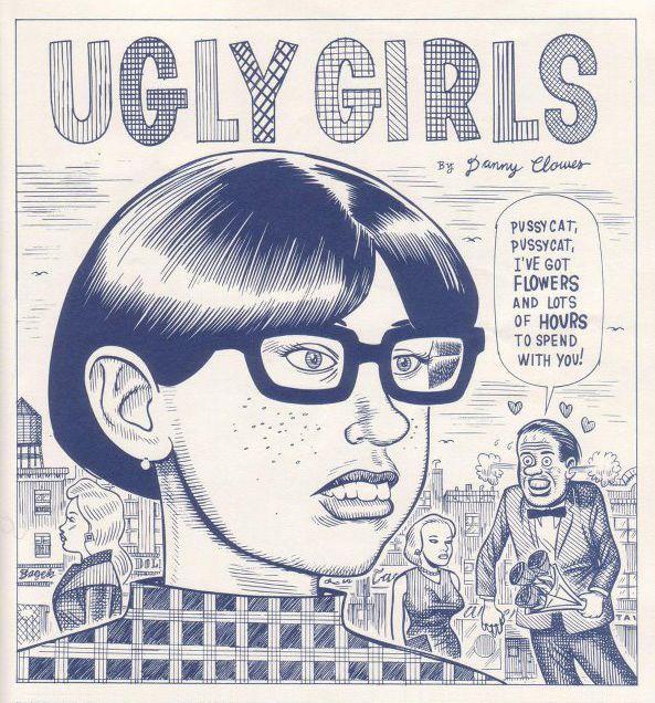 Daniel Clowes: Comics Inspiration, Drawings Illustrations, Book Faces, Comic Books, Ugly Girls, Uglygirls, Art, Posts