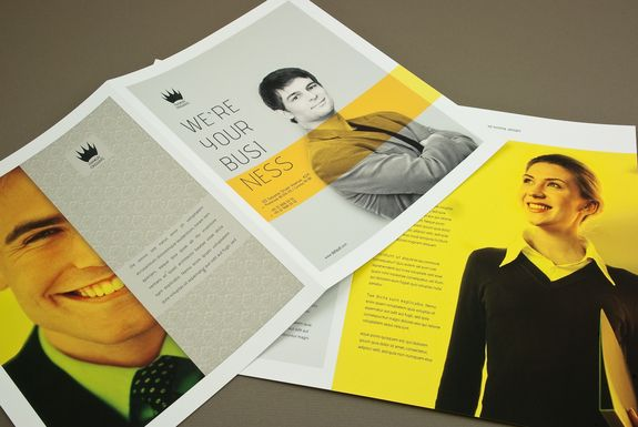 Clean and simple brochure design   Design   Pinterest   Yellow ...