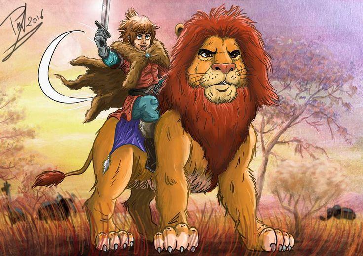 Le Lion, roi de la savane
