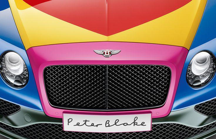 Появился первый автомобиль Bentley в стиле поп-арт :: Авто :: Объекты :: РБК.Стиль