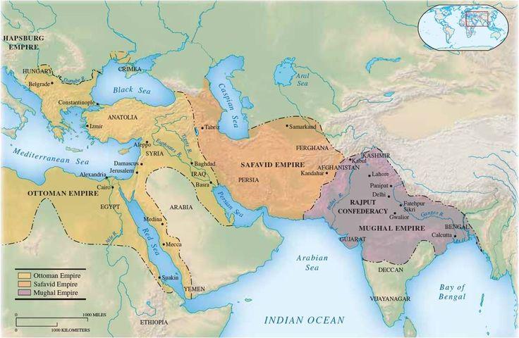 Ottoman Safavid Mughal Empires